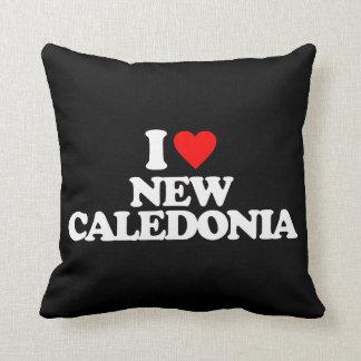 I LOVE NEW CALEDONIA THROW PILLOWS
