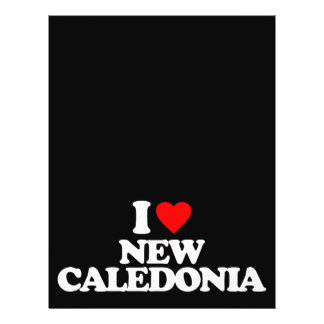 I LOVE NEW CALEDONIA FULL COLOR FLYER