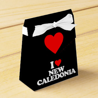 I LOVE NEW CALEDONIA PARTY FAVOR BOXES