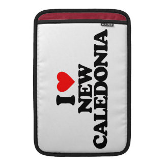 I LOVE NEW CALEDONIA SLEEVE FOR MacBook AIR