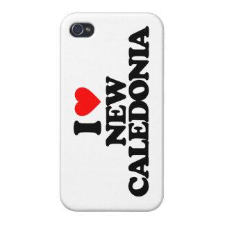 I LOVE NEW CALEDONIA iPhone 4 CASE
