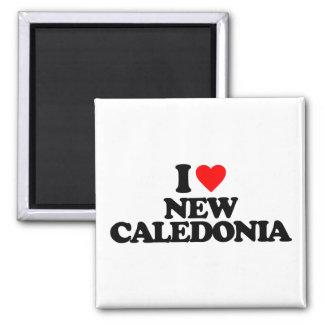 I LOVE NEW CALEDONIA MAGNETS