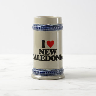 I LOVE NEW CALEDONIA MUGS