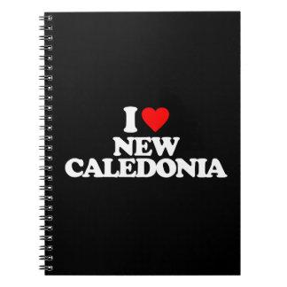 I LOVE NEW CALEDONIA NOTE BOOK