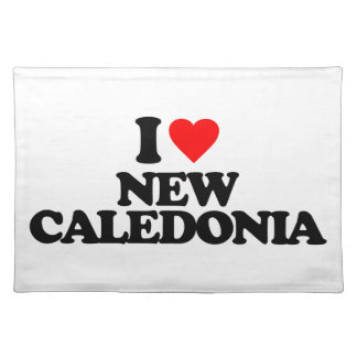 I LOVE NEW CALEDONIA PLACEMAT