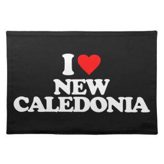 I LOVE NEW CALEDONIA PLACE MAT