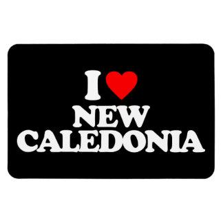 I LOVE NEW CALEDONIA RECTANGULAR MAGNET