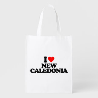 I LOVE NEW CALEDONIA MARKET TOTE