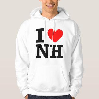 I Love New Hampshire Hoodies