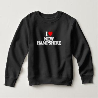 I LOVE NEW HAMPSHIRE SWEATSHIRT