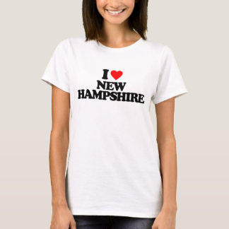 I LOVE NEW HAMPSHIRE T-Shirt