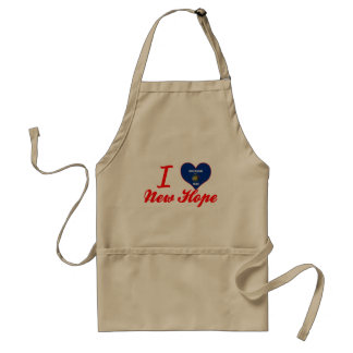 I Love New Hope, Wisconsin Standard Apron