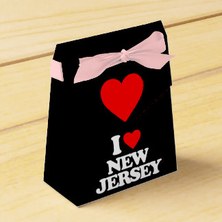 I LOVE NEW JERSEY FAVOUR BOX