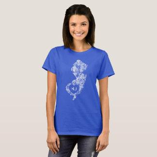 I Love New Jersey State Women's Basic T-Shirt