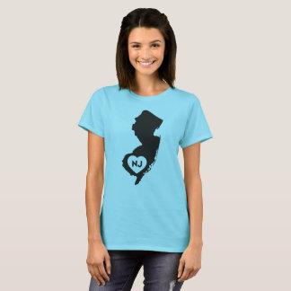 I Love New Jersey State Women's T-Shirt