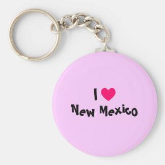 I Love New Mexico Key Ring