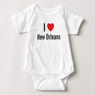 I love New Orleans Baby Jumper Baby Bodysuit