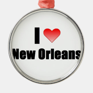 I Love New Orleans Christmas Ornament