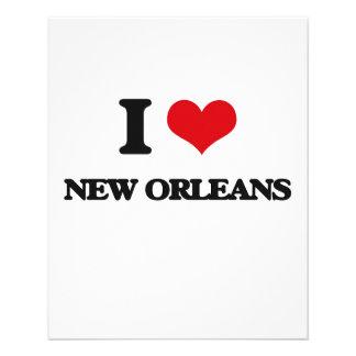 I love New Orleans Full Color Flyer