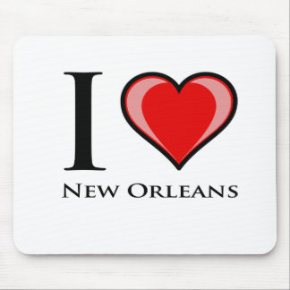 I Love New Orleans Mouse Mat