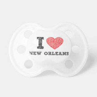 I-Love-New-Orleans Pacifier
