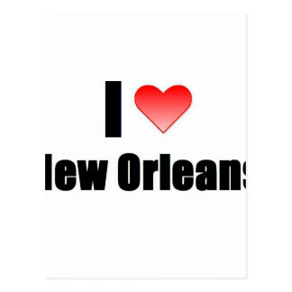 I Love New Orleans Postcard