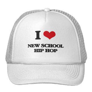 I Love NEW SCHOOL HIP HOP Trucker Hat