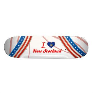 I Love New Scotland New York Skateboard Deck