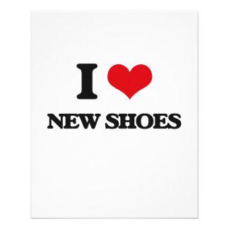 I love New Shoes 11.5 Cm X 14 Cm Flyer