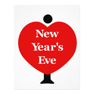 I Love New Year's Eve 21.5 Cm X 28 Cm Flyer