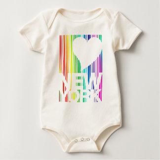 I love New York Baby Bodysuit
