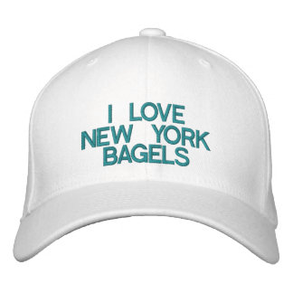 I LOVE NEW YORK BAGELS - Customizable Cap