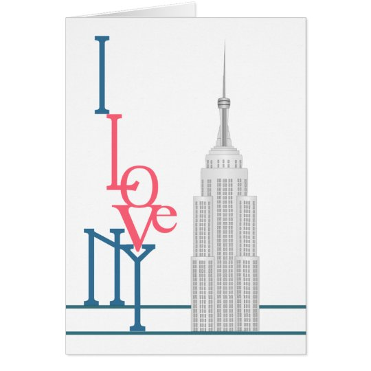 I Love New York Card