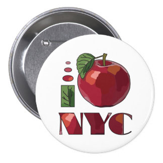 I LOVE NEW YORK CITY button