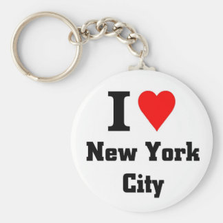 I love New York City Key Ring