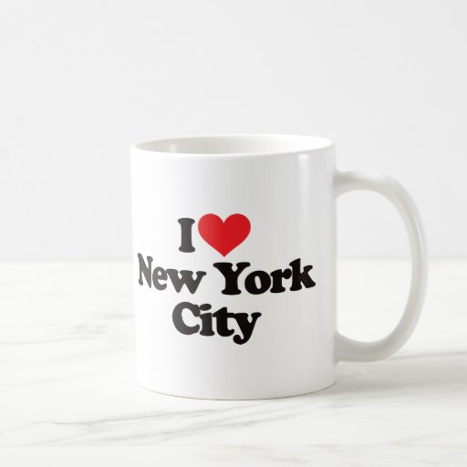 I Love New York City Coffee Mugs