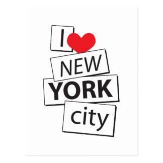 I Love New York City Postcard
