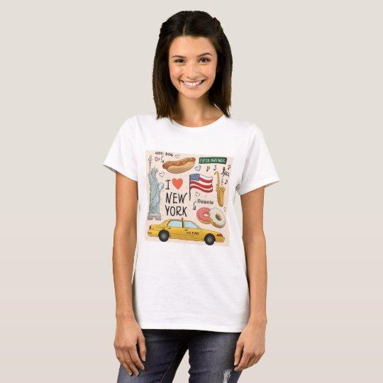 I Love New York City T-Shirt