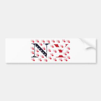 I Love New York Logo Bumper Sticker