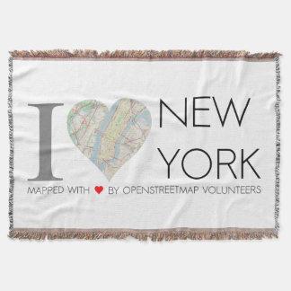 I love New York. OpenStreetMap