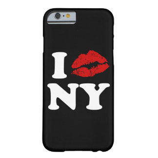 I Love New York | Red Lipstick Kissing Lips xxx Barely There iPhone 6 Case