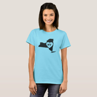 I Love New York State Women's Basic T-Shirt