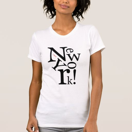 I love new york t shirts zazzle for T shirt screen printing nyc