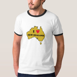 I Love New Zealand (Australia) T-Shirt