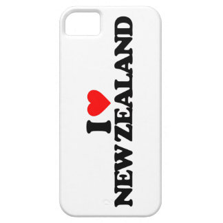 I LOVE NEW ZEALAND BARELY THERE iPhone 5 CASE
