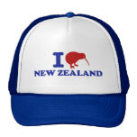 I Love New Zealand Cap