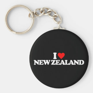 I LOVE NEW ZEALAND KEYCHAINS