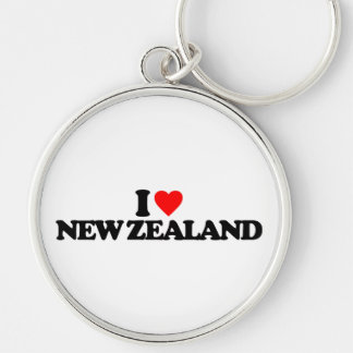 I LOVE NEW ZEALAND KEYCHAIN