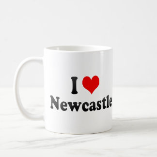 I Love Newcastle, Australia Coffee Mug