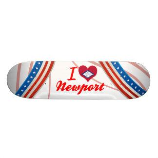 I Love Newport, Arkansas Skate Boards